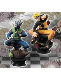CHESS PIECE COLLECTION PREMIUM NARUTO & KAKASHI