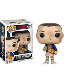 POP TELEVISION  421 STRANGERS THINGS - ELEVEN WITH EGGOS