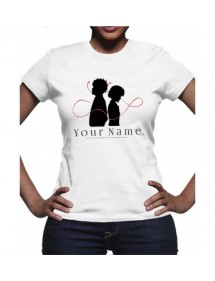 T-SHIRT  YOUR NAME TG S (DONNA)