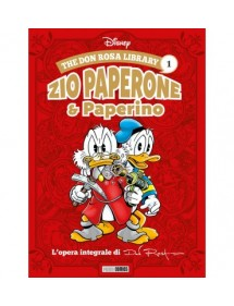 DON ROSA LIBRARY (THE)  1 ZIO PAPERONE & PAPERINO