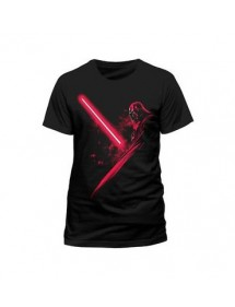 T-SHIRT  STAR WARS - VADER SHADOW TG.L