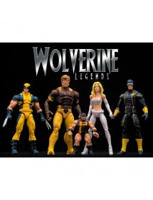 MARVEL LEGENDS SERIES SET COMPLETO 4 ACTION FIGURE