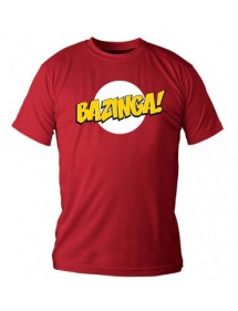 T-SHIRT  BIG BANG THEORY - BAZINGA TG.L
