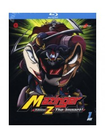 MAZINGER EDITION Z THE IMPACT 1 blu ray
