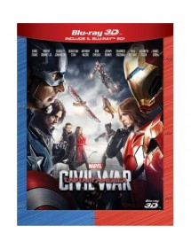CAPTAIN AMERICA CIVIL WAR BLU-RAY 3D (INCLUDE IL BLU-RAY 2D)