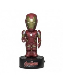 BODY KNOCKERS SOLAR POWERED  AVENGERS AGE OF ULTRON - IRON MAN