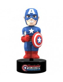 BODY KNOCKERS SOLAR POWERED  CAPTAIN AMERICA