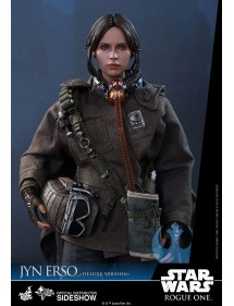 HOT TOYS  STAR WARS - JYN ERSO DELUXE VERSION