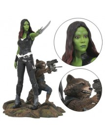 MARVEL GALLERY PVC DIORAMA  GUARDIANS OF THE GALAXY VOL.2 - GAMORA & ROCKET