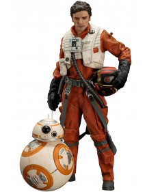 ARTFX + STATUE  STAR WARS POE DAMERON & BB-8
