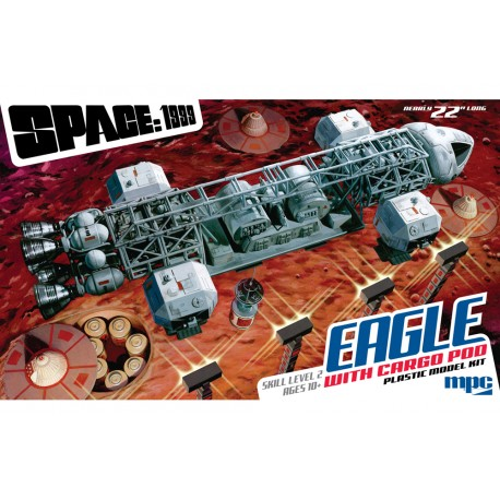 SPACE: 1999  EAGLE TRASPORTER WITH CARGO POD