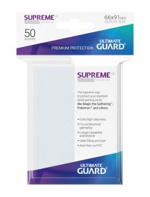 BUSTINE COPRI CARTE  ULTIMATE GUARD SUPREME FROSTED 50
