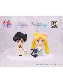 SAILOR MOON PETIT CHARA  HAPPY WEDDING