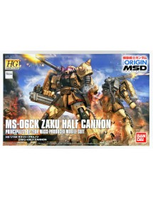 HG GUNDAM THE ORIGIN HIGH GRADE SCALA 1/144 19 MS-6CK ZAKU HALF CANNON