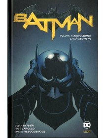 BATMAN NEW 52 NEW 52 LIMITED  4 NEW 52 LIMITED - CITTA' SEGRETA