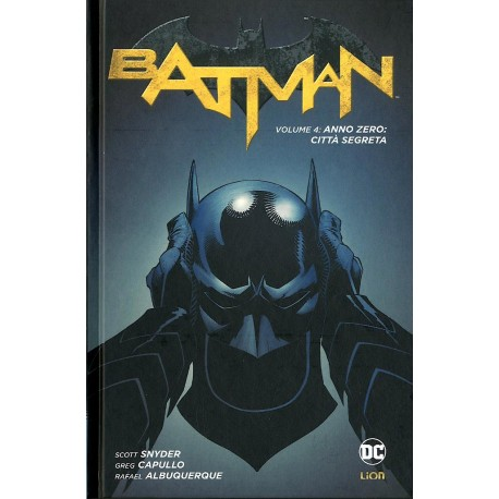 BATMAN NEW 52  4 NEW 52 LIMITED - CITTA' SEGRETA
