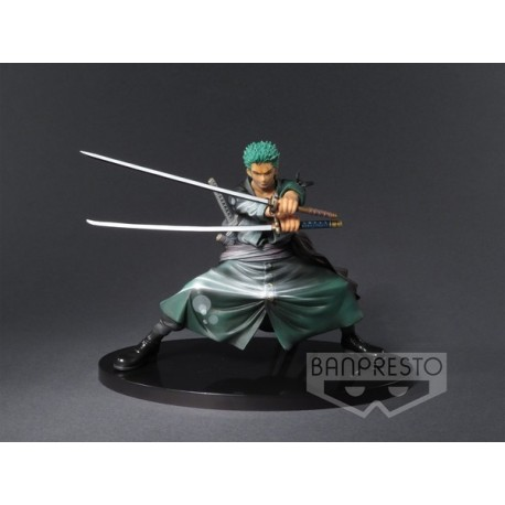 BANPRESTO FIGURE COLOSSEUM  ONE PIECE RORONOA ZORO SHINING COLOR VER.