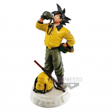 BANPRESTO FIGURE COLOSSEUM  DRAGON BALL SON GOKU NAVY COLO VER.