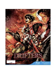 DRIFTERS  SERIE COMPLETA 3 BLU-RAY LIMITED EDITION BOX