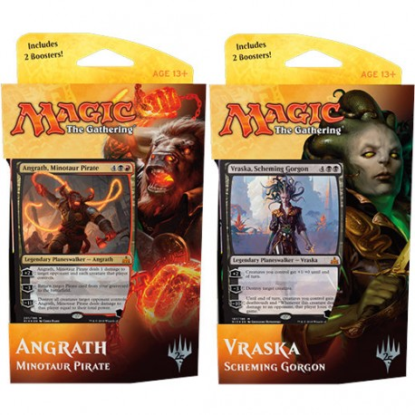 MAGIC RIVALI DI IXALAN  MAZZO PLANESWALKER