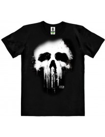 T-SHIRT PUNISHER SKULL XL BLACK