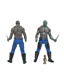 MARVEL SELECT  DRAX E BABY GROOT
