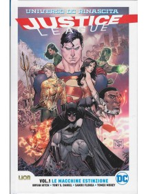 JUSTICE LEAGUE RINASCITA COLLECTION  1 ULTRALIMITED LE MACCHINE ESTINZIONE