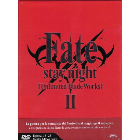 FATE STAY NIGHT UNLIMITED BLEDE WORKS  STAGIONE 2 LIMITED EDITION DVD
