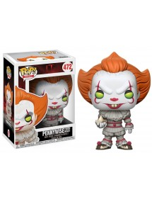 POP MOVIES  472 IT - PENNYWISE (WITH BOAT)