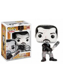 POP TELEVISION  390 THE WALKING DEAD - NEGAN BLACK&WHITE