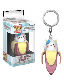 POP POCKET KEYCHAIN  BANANYA - LONG-HAIRED BANANYA