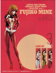 LUPIN THE THIRD GROOVY BABY SHOT III  FUJIKO VER. RED