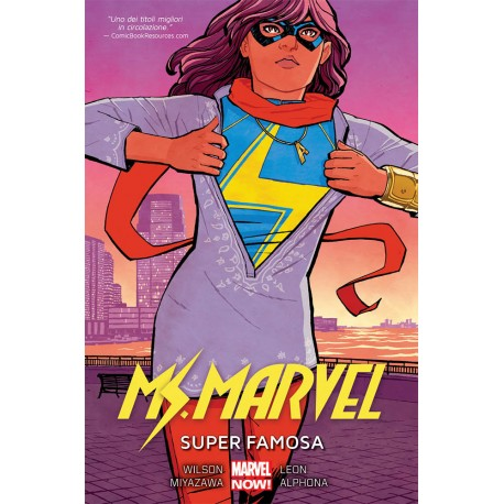 MS. MARVEL  5 SUPER FAMOSA