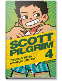 SCOTT PILGRIM COLOR EDITION  4 TORNA IN PISTA