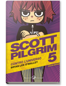SCOTT PILGRIM COLOR EDITION  5 CONTRO L'UNIVERSO