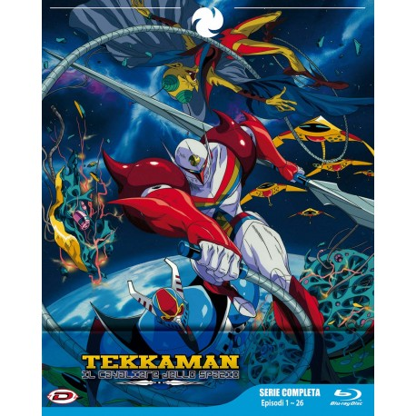 TEKKAMAN TV BOX  BLU-RAY SERIE COMPLETA