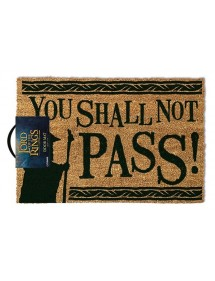 ZERBINO - DOOR MAT - TAPPETO LORD OF THE RING - YOU SHALL NOT PASS
