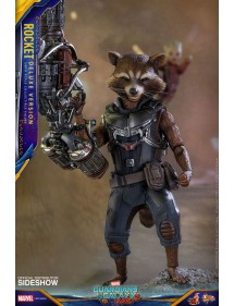 HOT TOYS  GUARDIANS OF THE GALAXY -  ROCKET 1/6