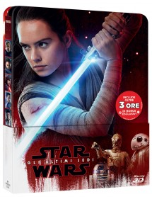STAR WARS GLI ULTIMI JEDI  BLU-RAY 3D - BLU-RAY LTD STEELBOOK