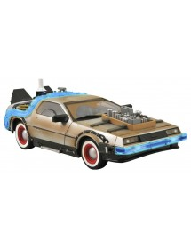 BACK TO THE FUTURE DELOREAN  BACK TO THE FUTURE III DELOREAN scala 1/15