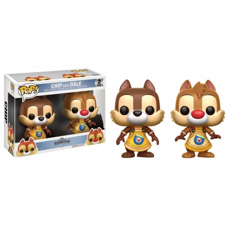 POP 2 PACK  KINGDOM HEARTS - CHIP AND DALE