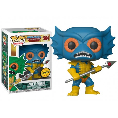 POP TELEVISION  564 MASTERS OF THE UNIVERSE - MERMAN + CHASE