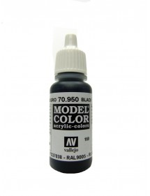 MODEL COLOR  Black - colore acrilico 17 ml