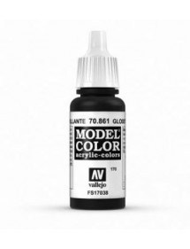 MODEL COLOR  Glossy Black - colore acrilico 17 ml