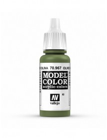 MODEL COLOR  Olive Green - colore acrilico 17 ml