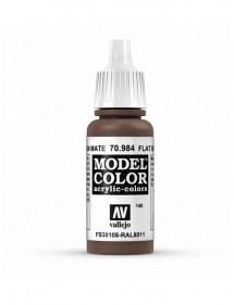 MODEL COLOR  Flat Brown - colore acrilico 17 ml