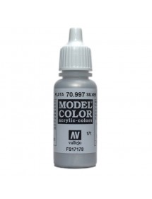 MODEL COLOR  Silver - colore acrilico 17 ml