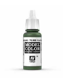 MODEL COLOR  Flat Green - colore acrilico 17 ml