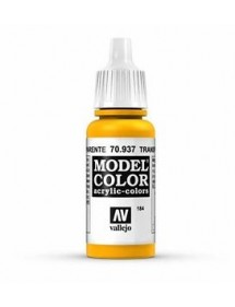 MODEL COLOR  Transparent Yellow - colore acrilico 17 ml