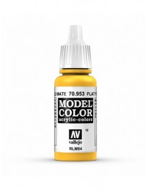 MODEL COLOR  Flat Yellow - colore acrilico 17 ml